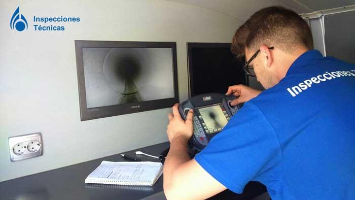 inspección de tuberías
